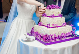 wedding cake bakery photo