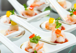 wedding caterer preview